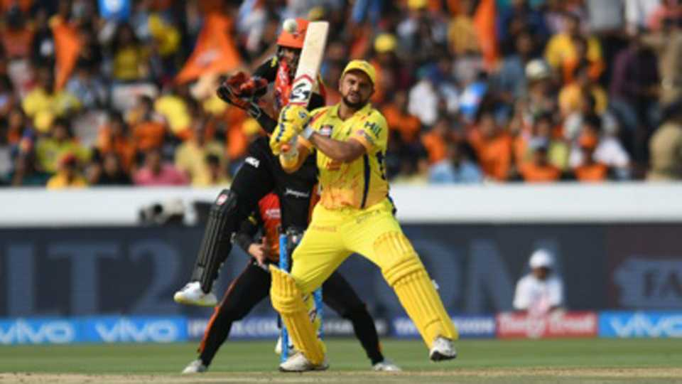 Cricket Match Hydrabad Loose Match Chennai Won by 4 Runs