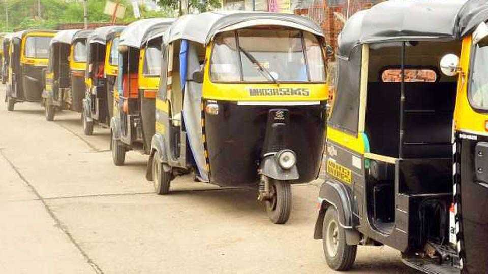 Auto rickshaw strike