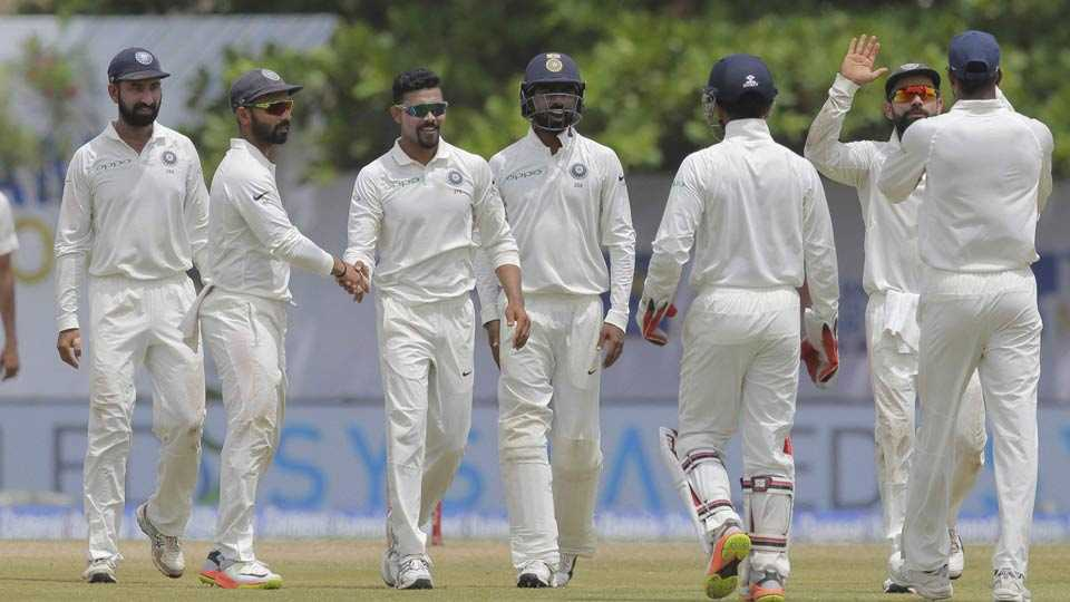First Test: India crush Sri Lanka for biggest overseas win