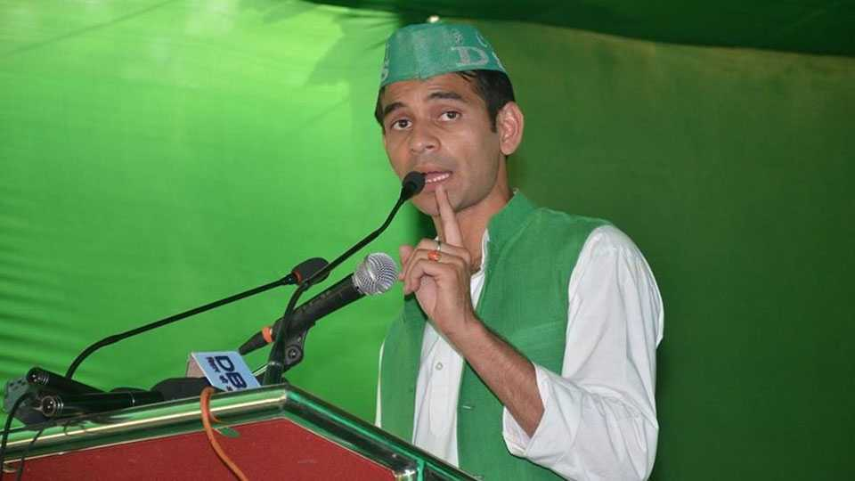National News Political News We Will Build Ram Mandir Says Tejpratap Yadav RJD