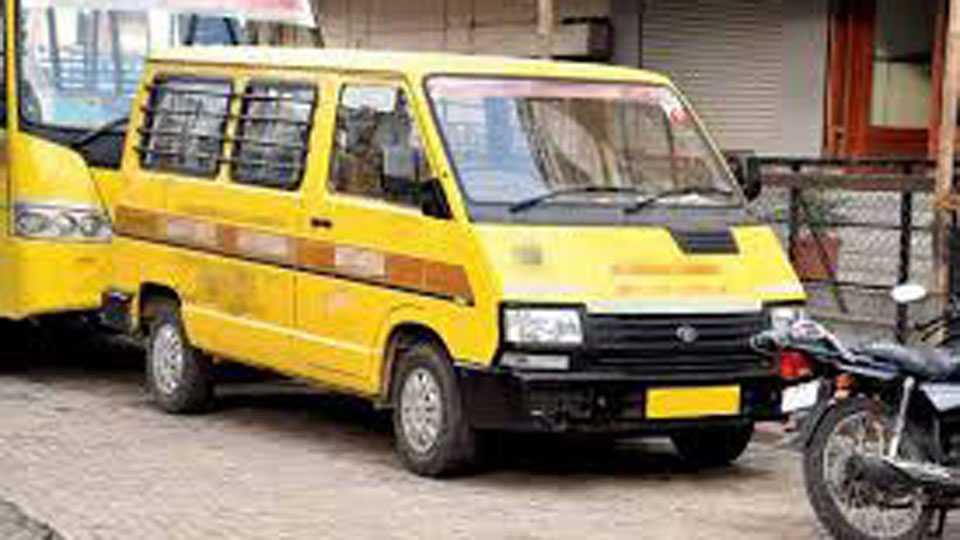 Madhya Pradesh News Forgotten locked in school car for hours 6 year old boy dies