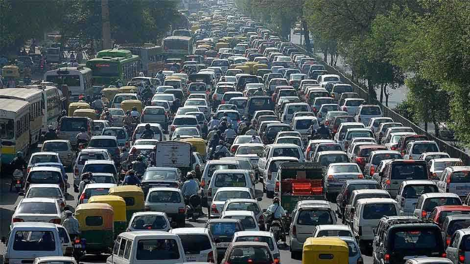 Vehicles in New Delhi