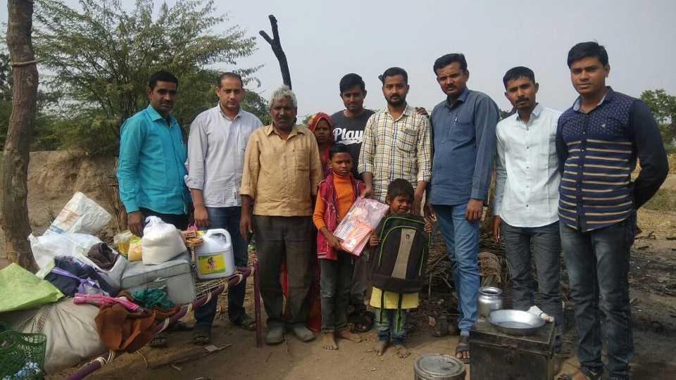 teachers helped poor family