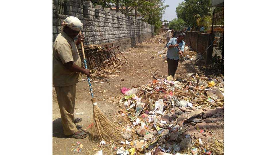 shivsrushti garden cleaning sangvi