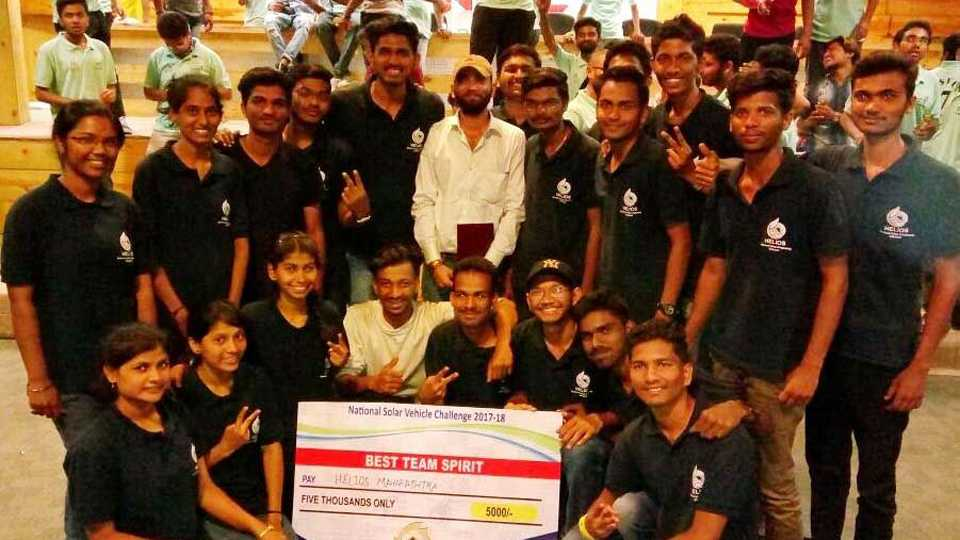students of govt engineering college avsari designed solar car