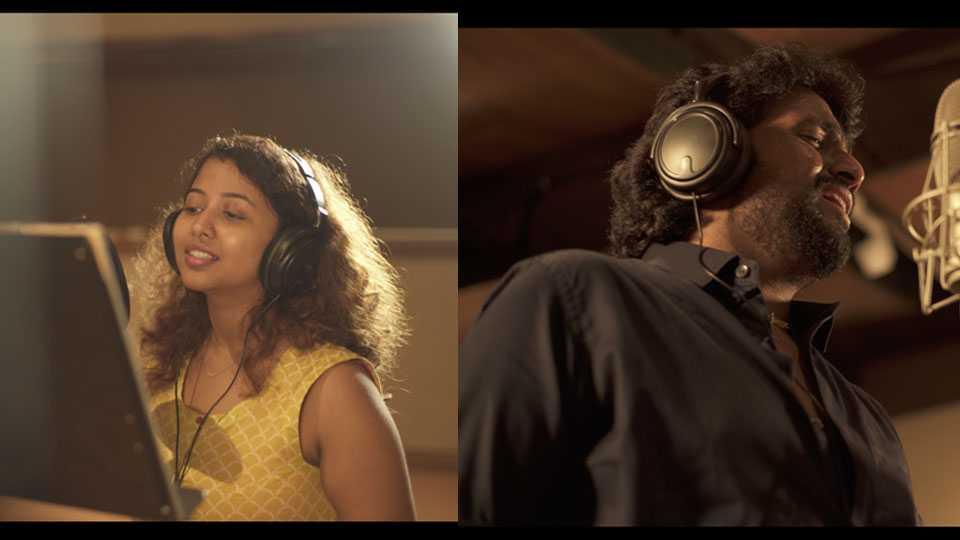 ganesh song by anandi joshi adarshshinde esakal news
