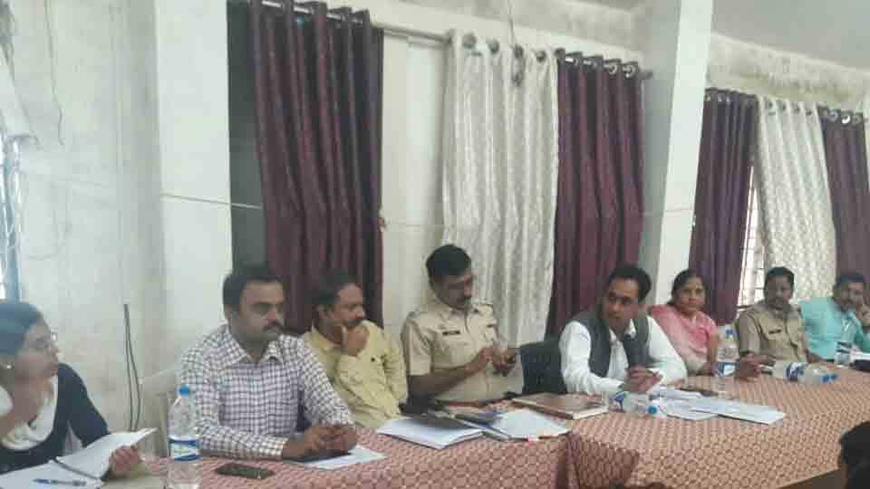 Planning review meeting of Alandi provincial office