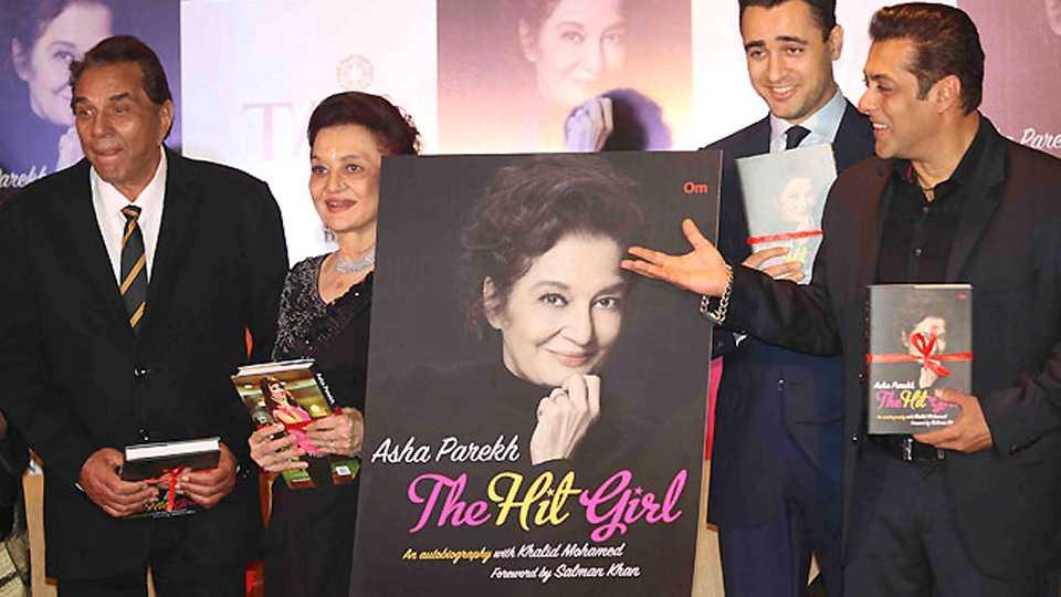 Salman Khan launches Asha Parekh biography