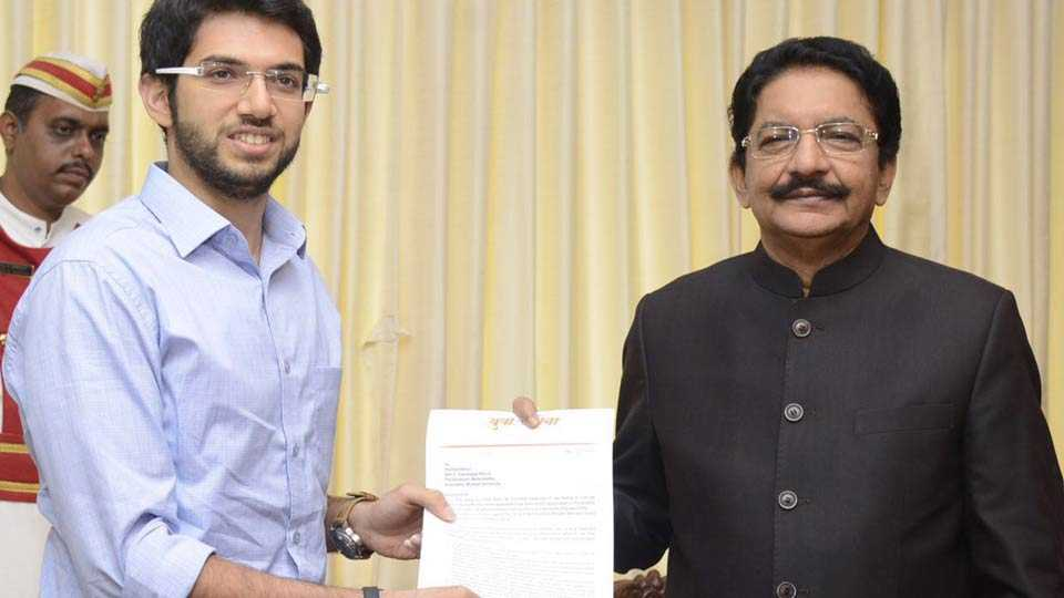 Aditya Thackeray meet Governor Vidyasagar Rao