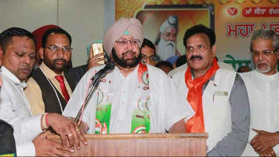 Punjab Elections: Several Akali Dal, AAP And BJP Leaders Join Congress