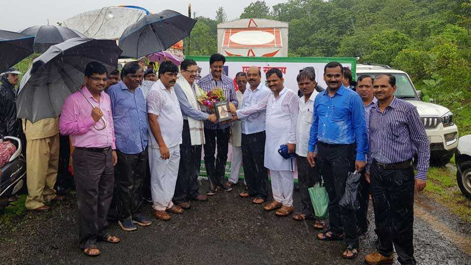 A special campaign in Varasgaon dam area of tree plantain