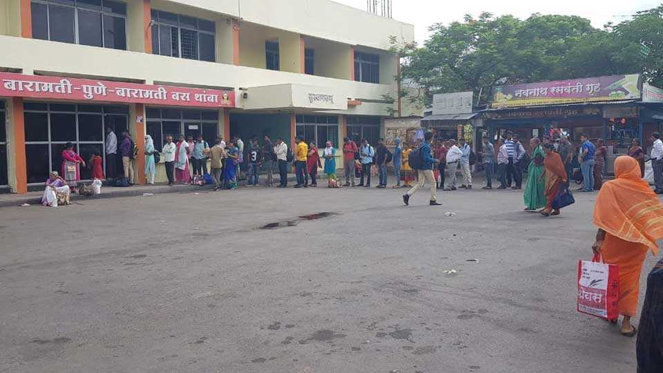 Pune to Baramati provide ST bus with Shivshahi