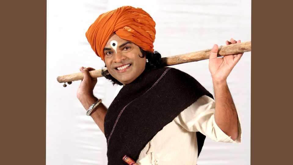 bharat jadhav as a Viththal in Tu Maza Sangati esakal news