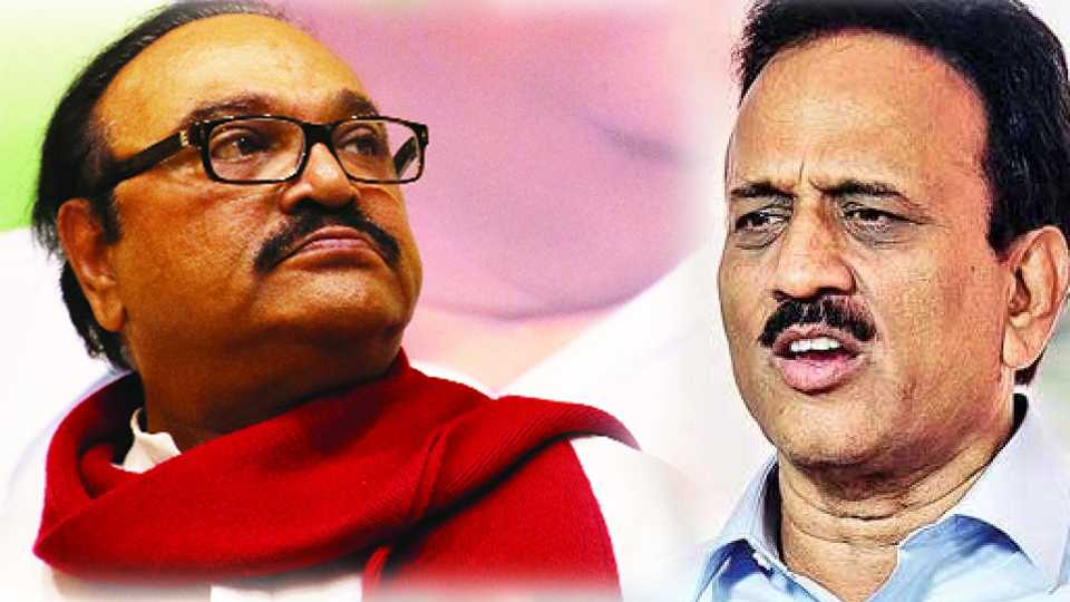 There is conflict between chagan bhujbal and girish mahajan at yevla because drought conditions