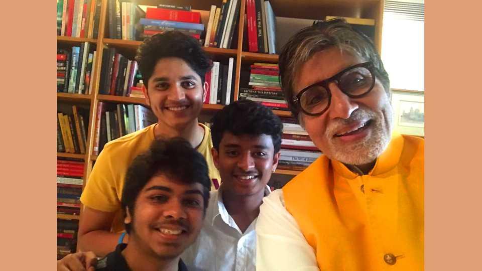 Boyz team met Amitabh Bachchan esakal news