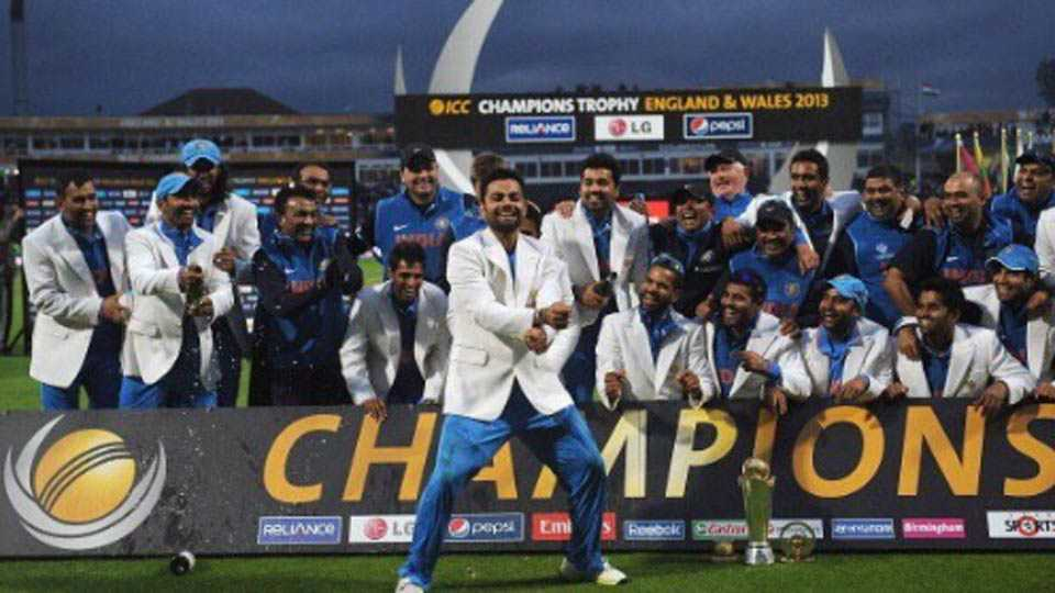 India squad announced for Champions Trophy 2017