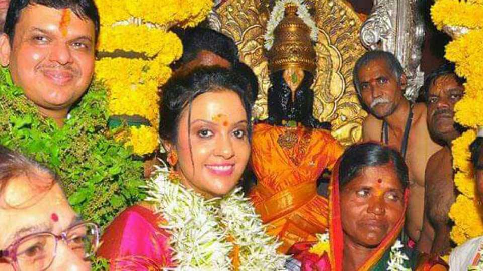 Mahapooja of Shri Vitthal Rukmini at the hands of Chief Minister Devdendra Fadnavis