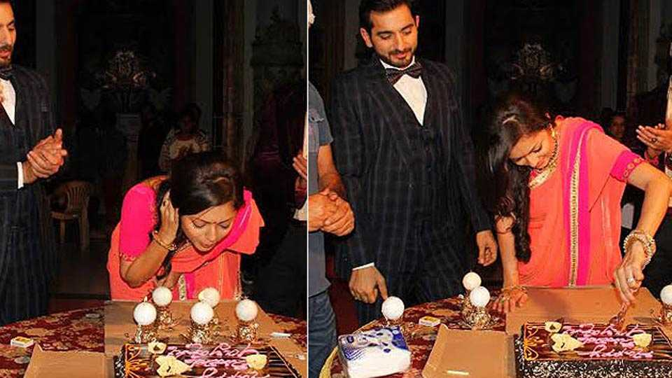 drashti dhami birthday celebration