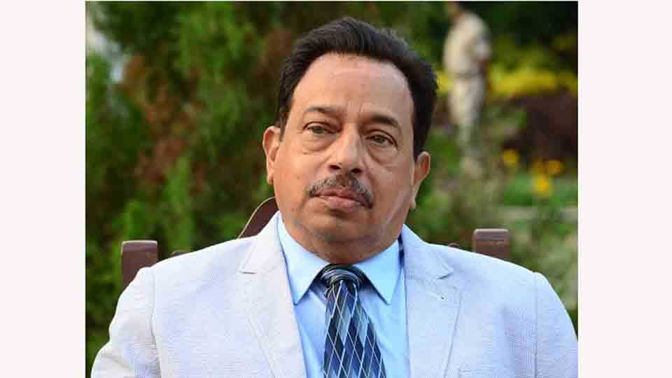 Minister Francis DSouza admitted to hospital