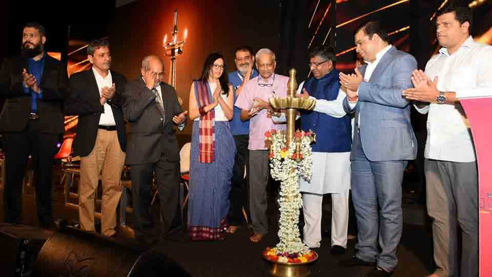 Union ministers announcement of setting up of NIELIT center in Goa
