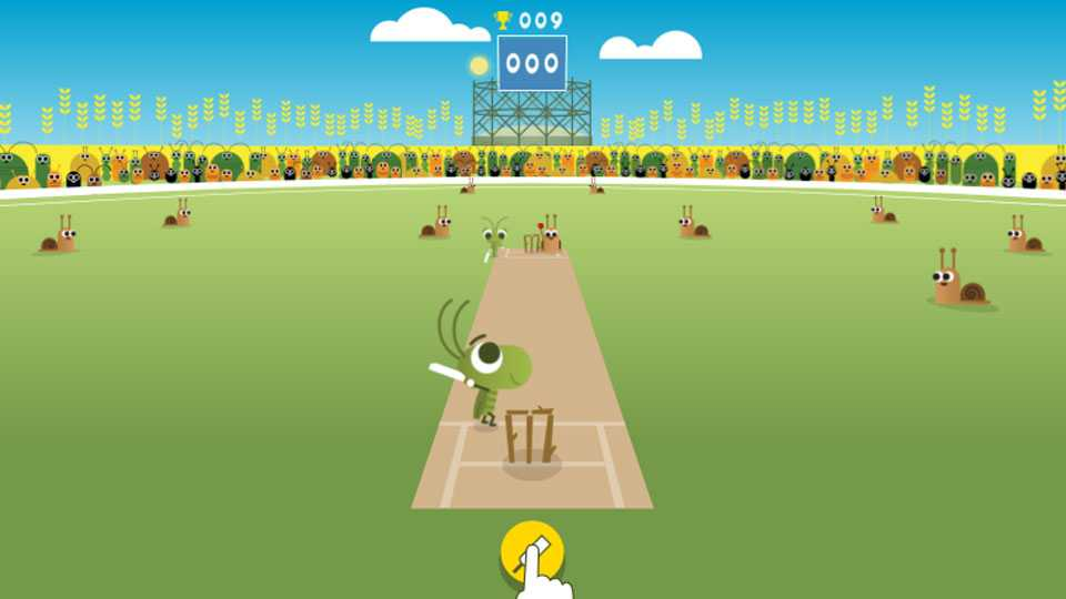 google doodle champions trohphy cricket india-pak match india news new delhi sports