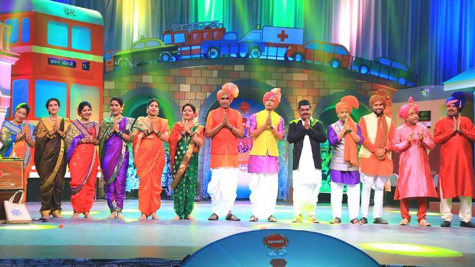 colors marathi GST express new show esakal news