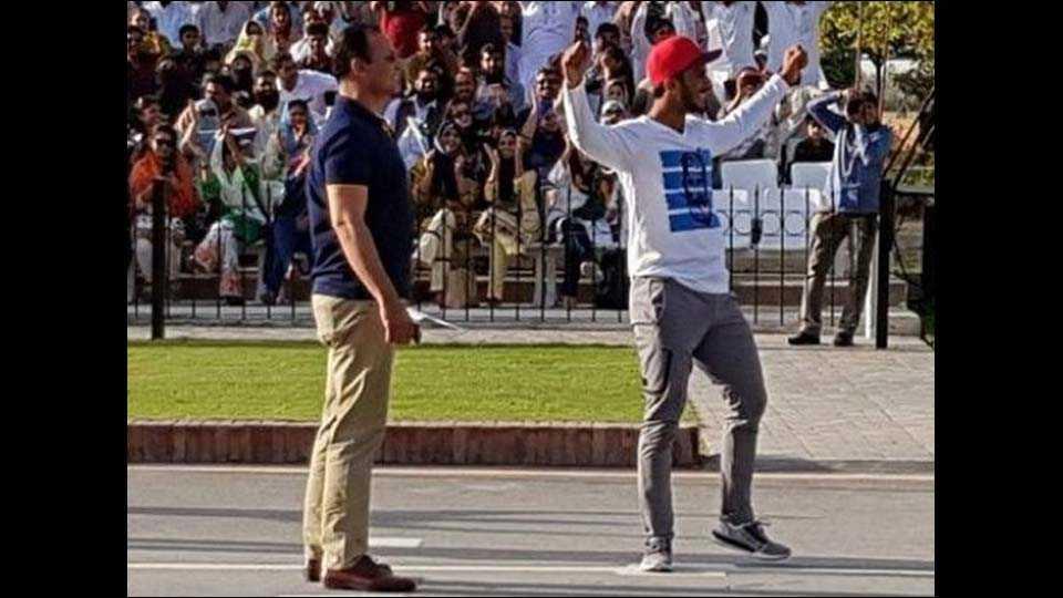 Pak cricketer Hasan Ali trolled for mocking BSF at Wagah Border