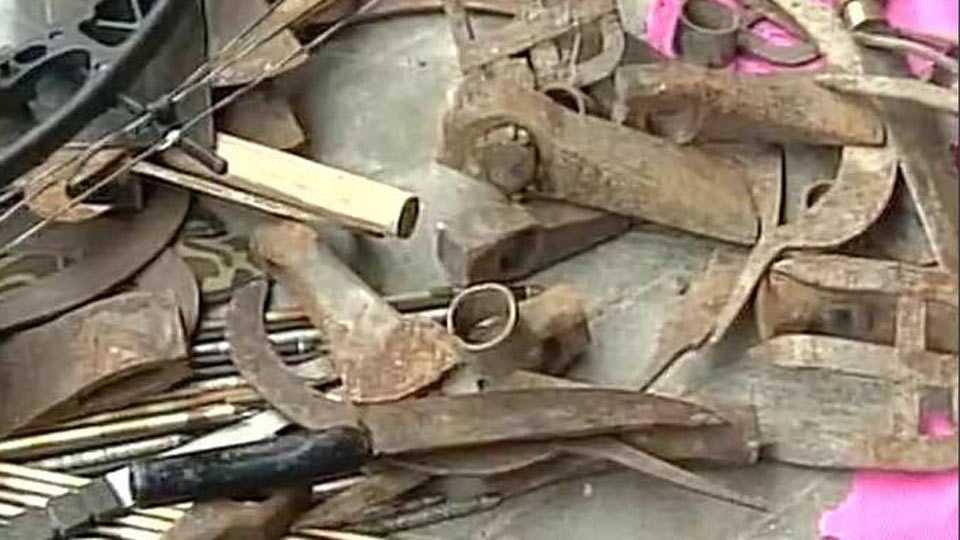 Darjeeling protests: Police break lock, raid GJM leader Bimal Gurung's office; weapons recoverd