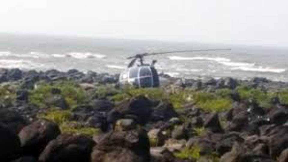 Mumbai News Coast Guard Helicopter Crash