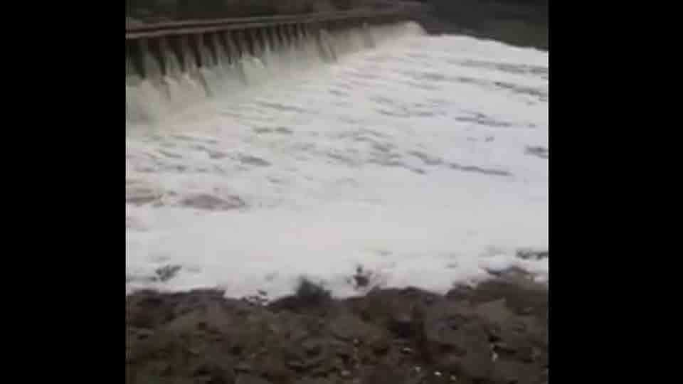 Indrayani river water has become chemically
