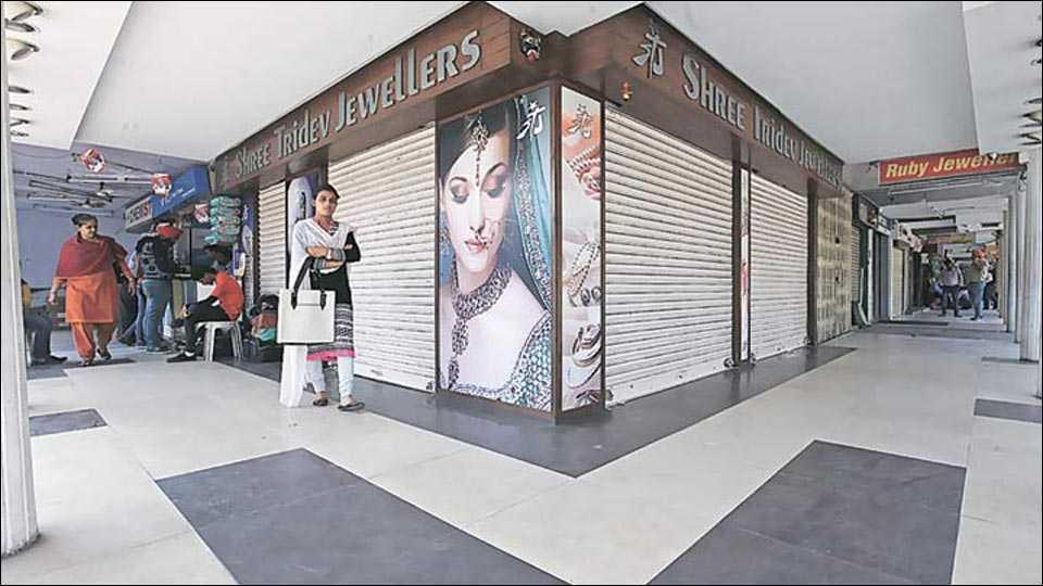 delhi jewellery market shut down