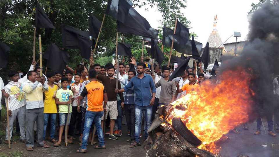 Kalyan Nevali Airport agitation