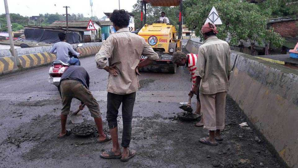 Kalyan Dombivali municipal corporation road work