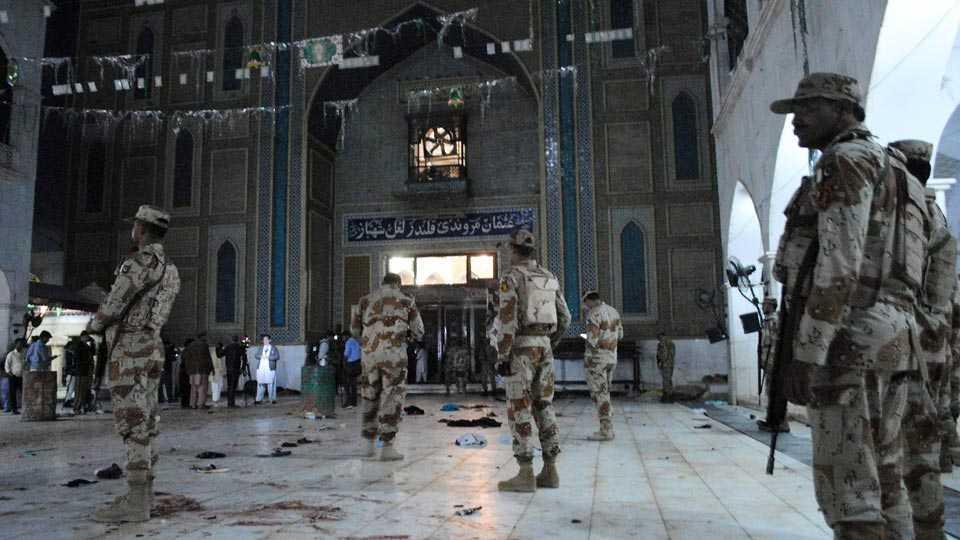 Hazrat Lal Shahbaz Qalandar shrine