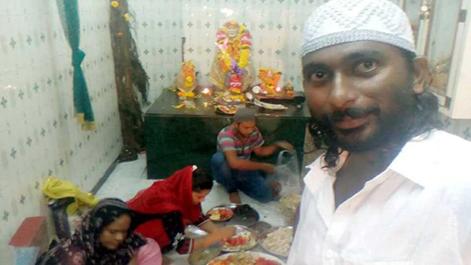 marathi news malad news roja iftar party sai mandir communal harmony