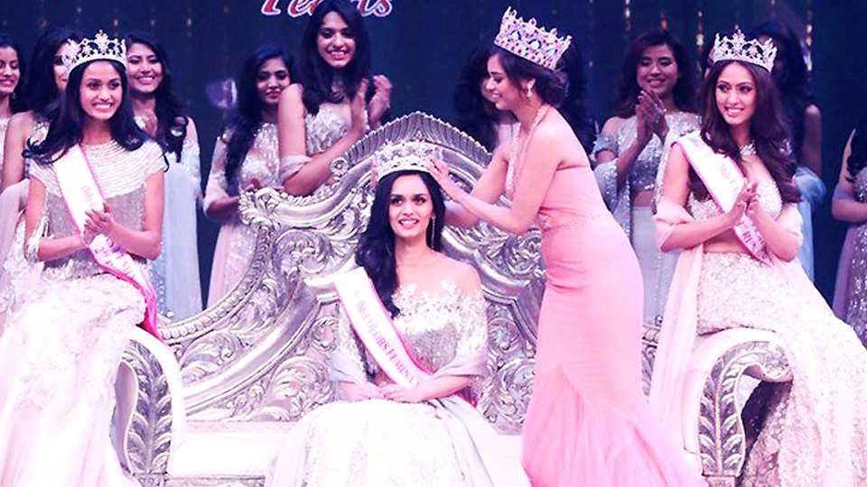 Manushi Chillar crowned as Miss India 2017