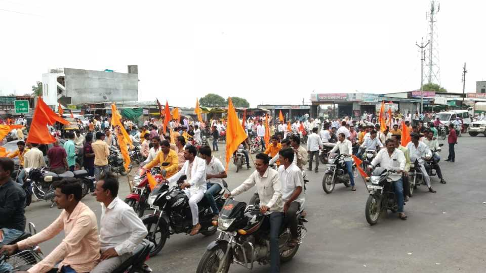 two thousand bike rally in gevarai