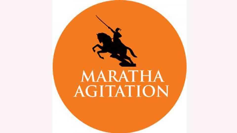 Maratha Agitation of the Maratha women of Karhad soon at Azad Maidan