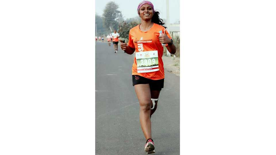 Mumbai News Pradnya Patil Panvel News Marathon Struggler