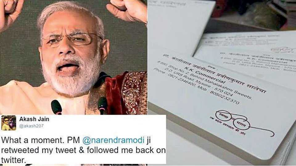 Meet this Bengaluru man who is followed by PM Modi on Twitter