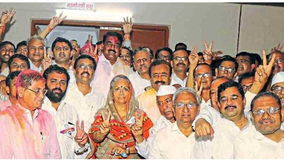 maratha vidya prasarak election