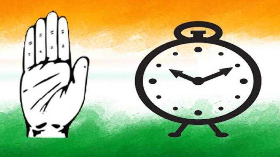 Congress, NCP