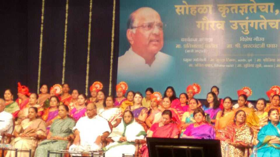 pune news Sharad Pawar should not say for President post says Pratibhatai Patil