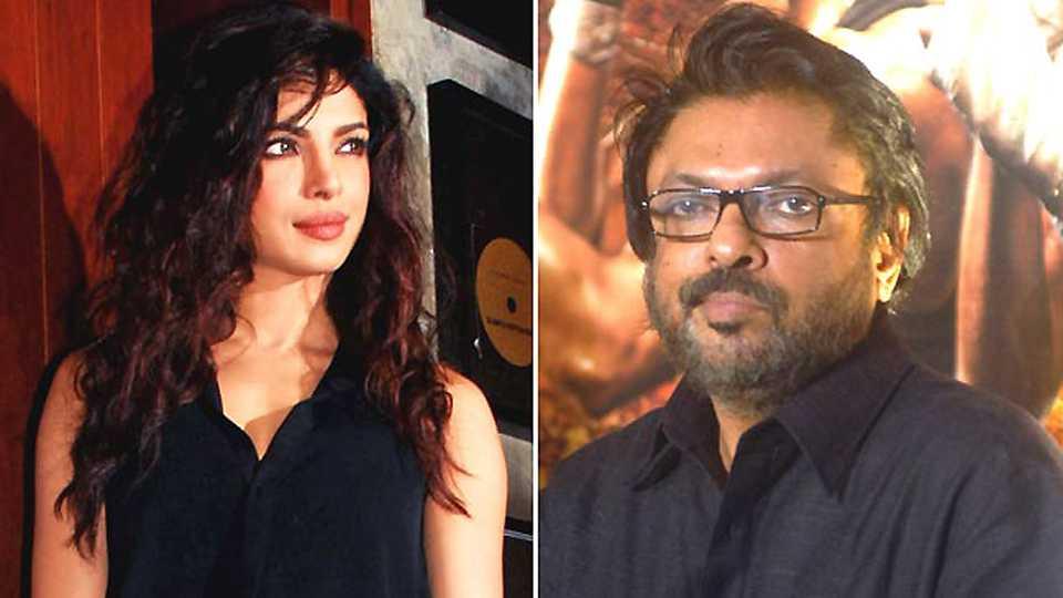 Sanjay leela bhansali angry on Priyanka chopra
