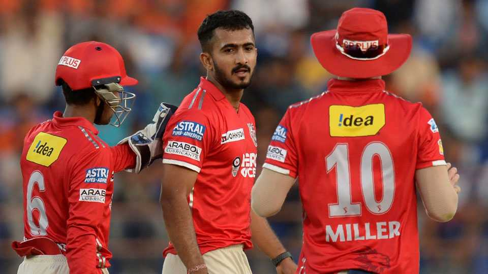 IPL ; GL Vs KXIP: Punjab Beat Gujarat By 26 Runs