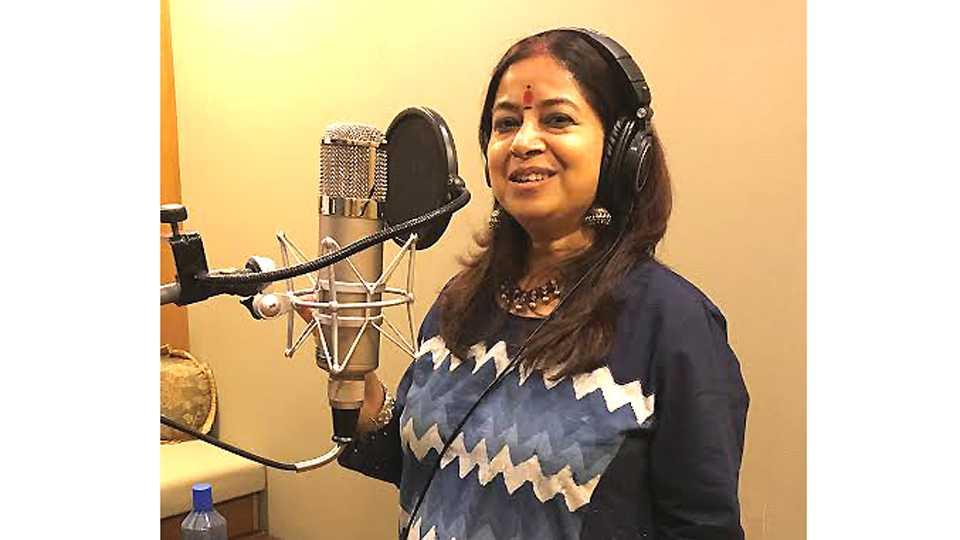 Rekha bhardwaj sings for marathi cinema esakal news