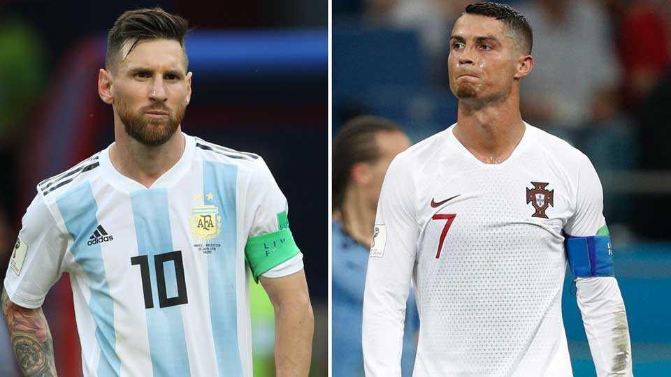 Lionel Messi, Christiano Ronaldo