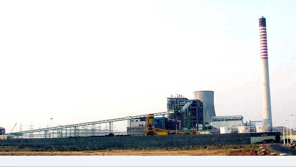 परळी वैजनाथ -येथील नवीन औष्णिक वीजनिर्मिती केंद्र.