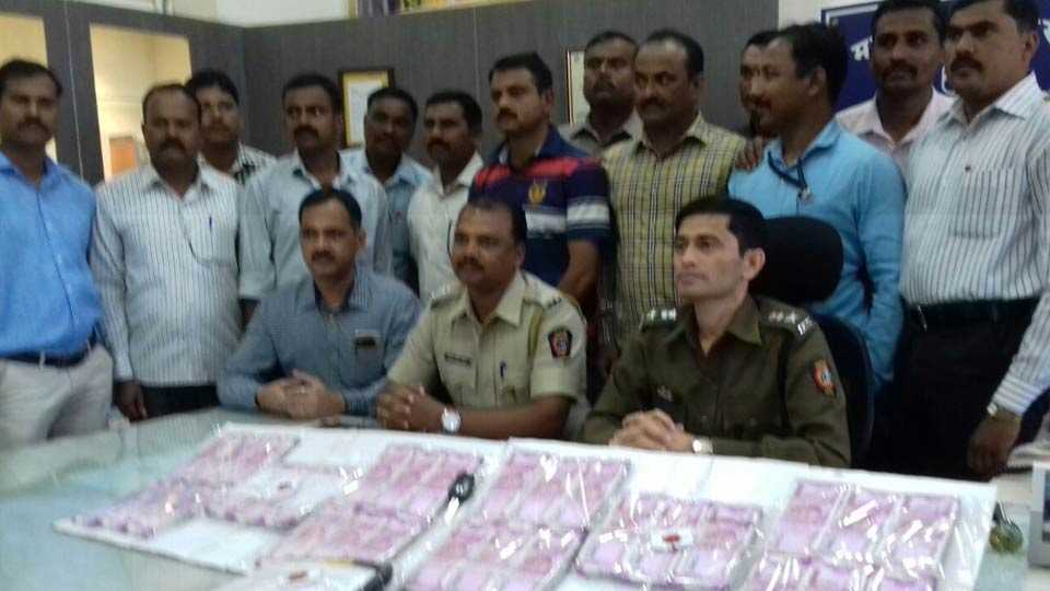 60 lakh cash seized in Satara