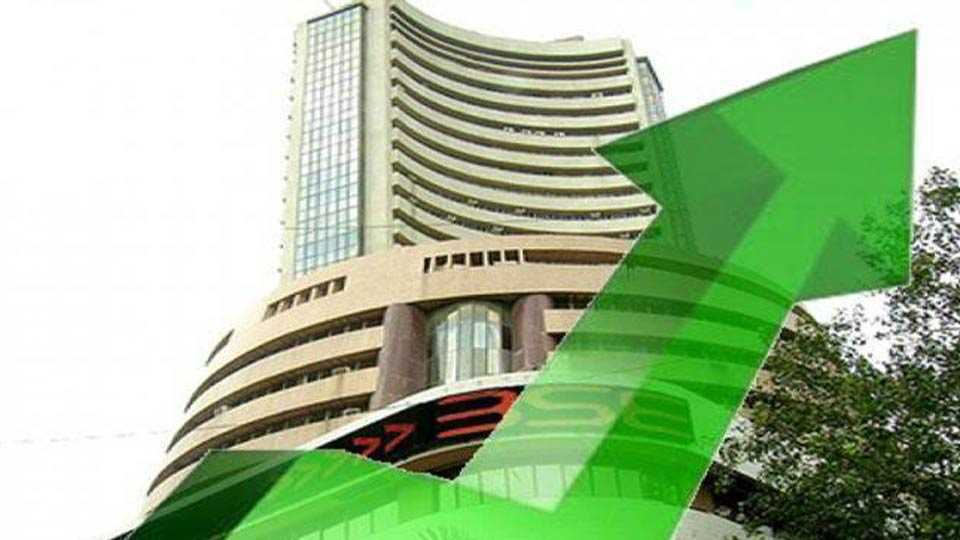 Sensex 50 points in growth; Nifty 8400 level again